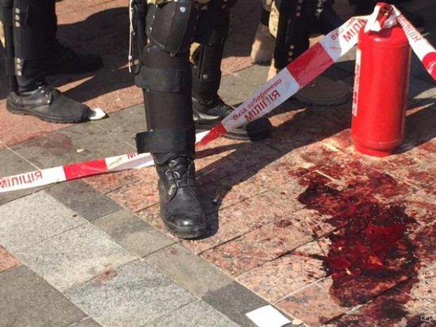 Депутат Гончаренко назвал события в Киеве жестокой провокацией Кремля, фото-5