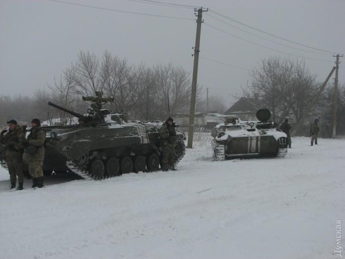 Продолжение репортажей из жизни украинской 28-й мехбригады в АТО