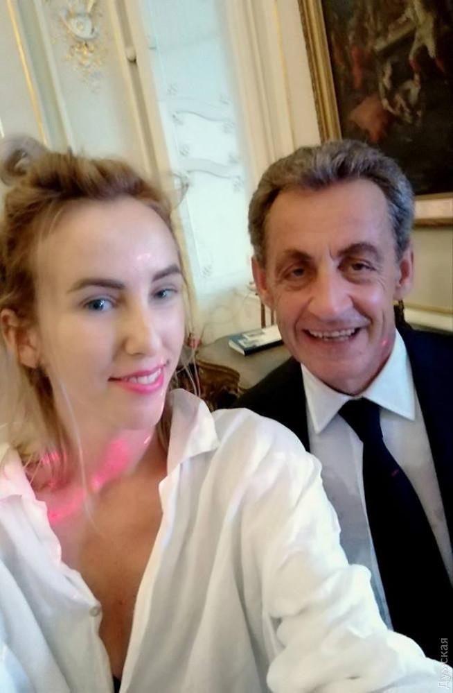 Николя Саркози и Екатерина Михейцева