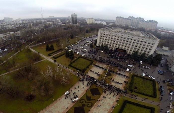 Противостояние у ОГА 3 марта 2014 года