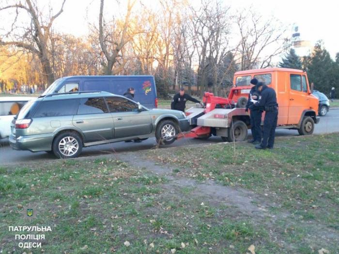 В Одессе патрульные с погоней задержали пьяного водителя