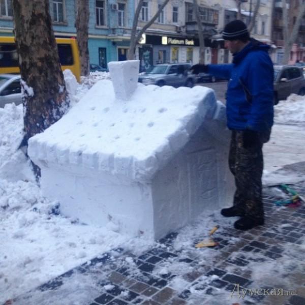 Как сделать снежный дом в снегу - AVTOpantera.ru
