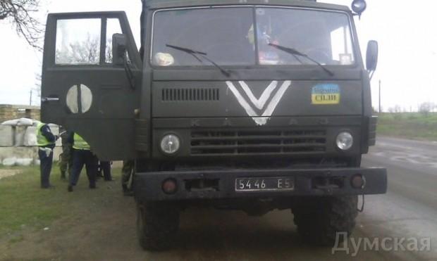 Одесский «Шторм» задержал подозрительный грузовик со «списанным» военным имуществом, фото-8