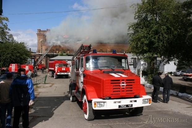 В результате пожара 2011 года корпуса мастерских были практически уничтожены