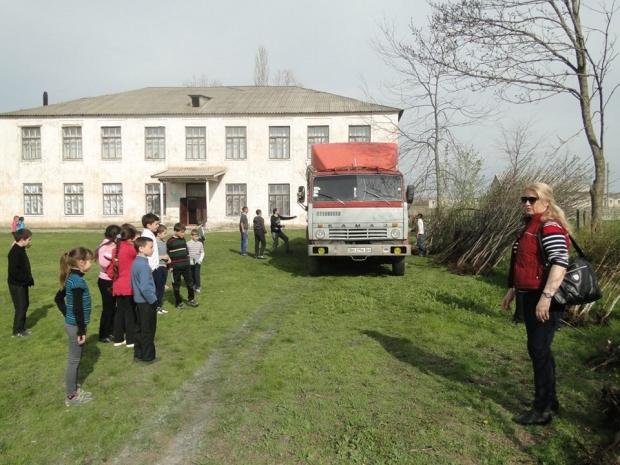 Немец благоустраивает Серпневое Тарутинского р-на (фото)