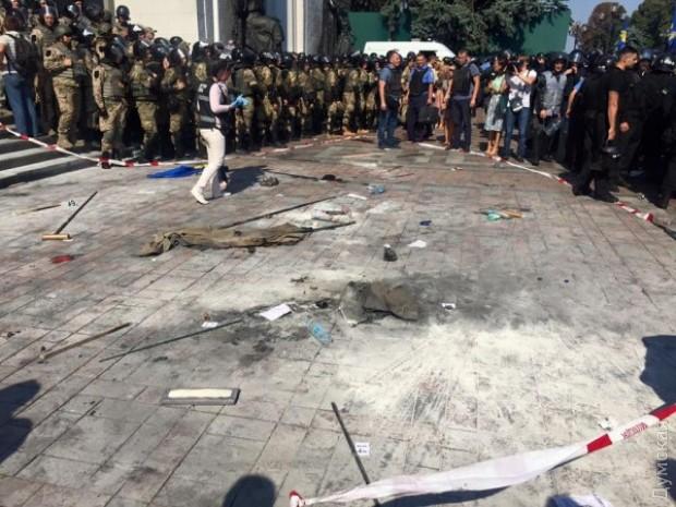 Депутат Гончаренко назвал события в Киеве жестокой провокацией Кремля, фото-6