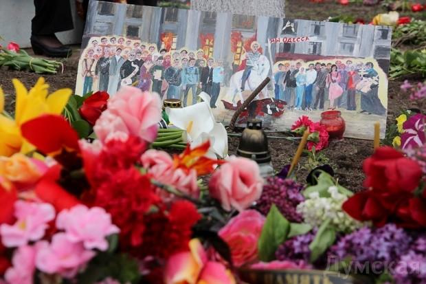 40 кадров: как одесситы поминали погибших 2 мая на Куликовом, фото-10