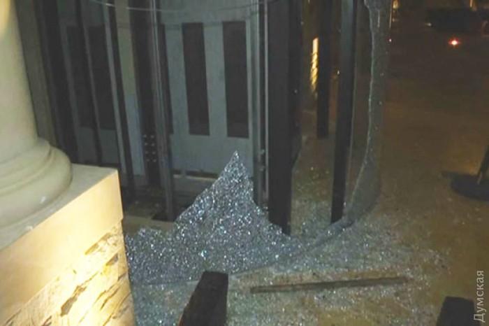 Вооруженный конфликт хозяев Одесского отеля.