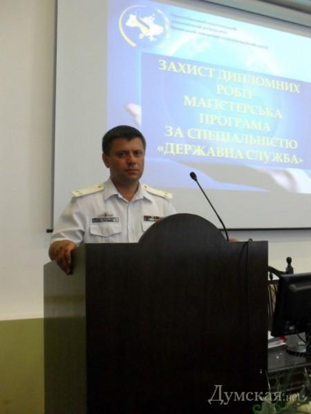 Капитан 2-го ранга Григорий Бреев. Грозился защитить Отечество, а сейчас служит врагу