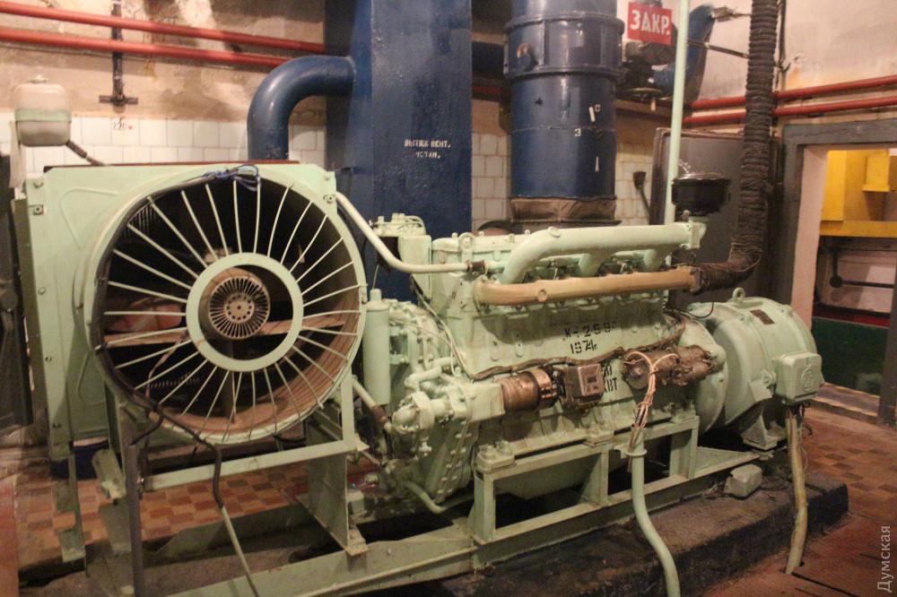 Дизельный генератор мощностью 50 кВТ