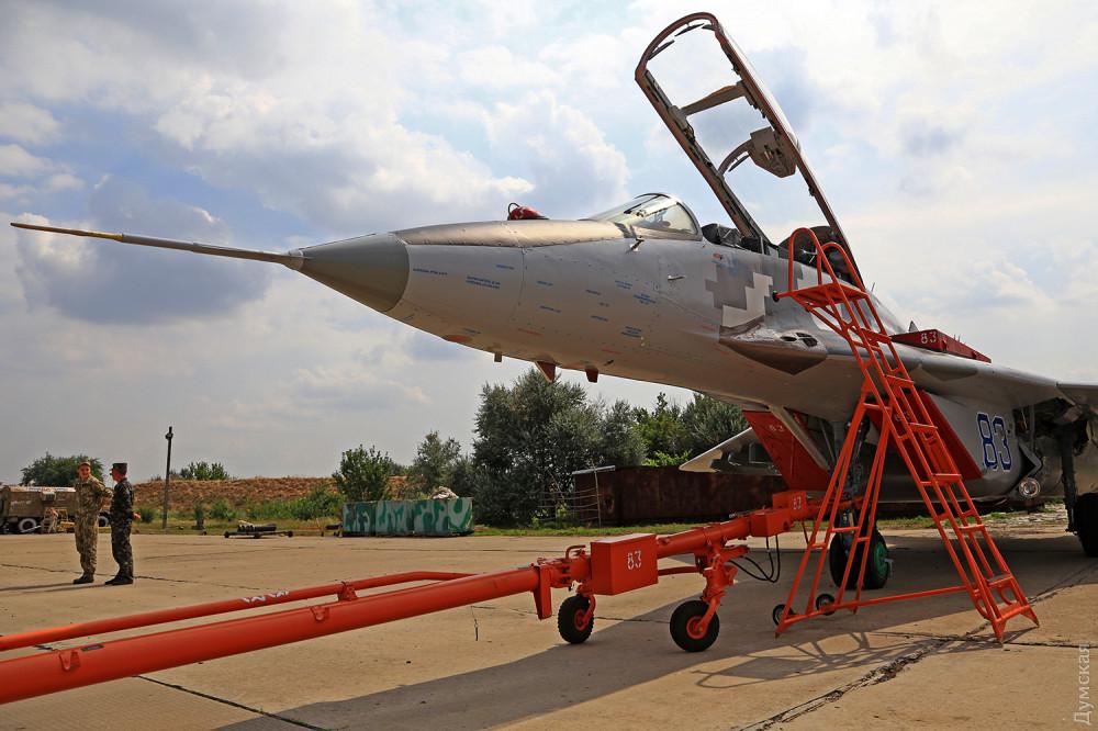 Миг-29УБ из 204 Севастопольской авиабригады
