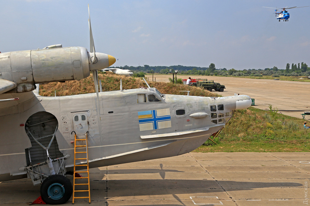 Патрульный самолет Бе-12