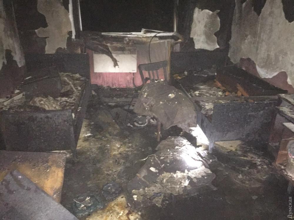 В Одесской области горело общежитие колледжа