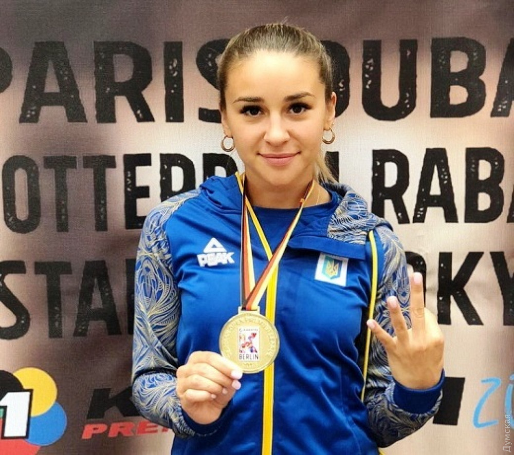 Одесситка завоевала золото на турнире по карате в Германии