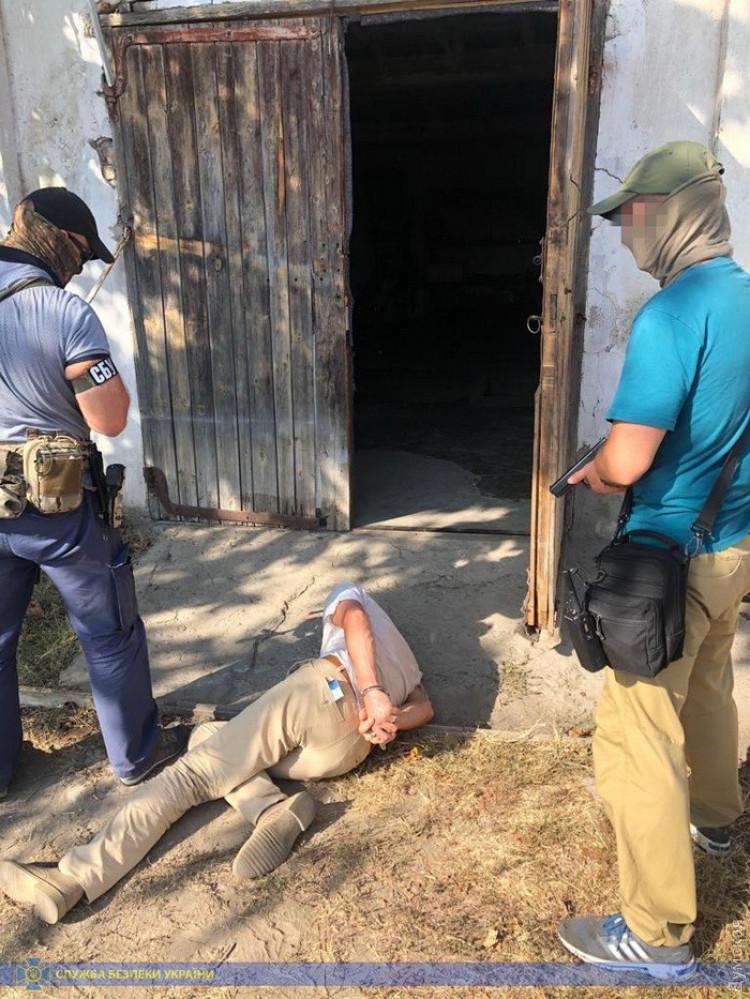 В Одесской области СБУ задержала подпольных оружейников