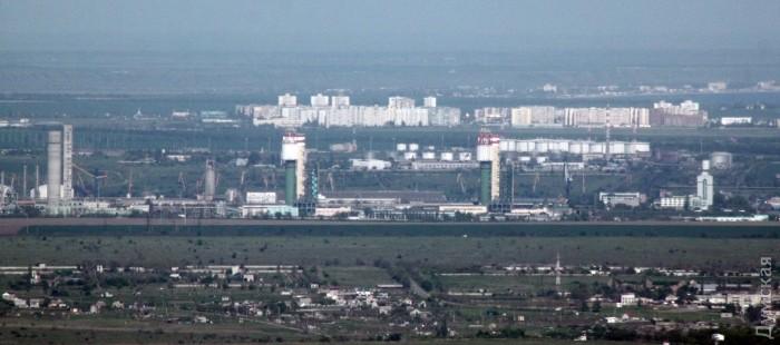 Одесский припортовый завод и город Южный