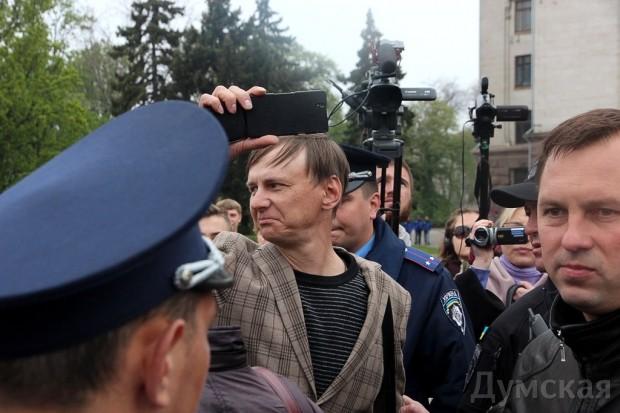 40 кадров: как одесситы поминали погибших 2 мая на Куликовом, фото-39