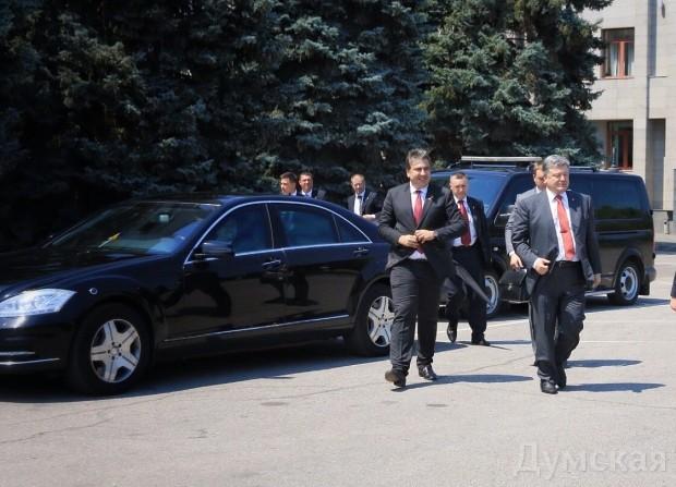Порошенко о деятельности Саакашвили: Я уже увидел  положительный опыт, который нужно распространять и в других областях - Цензор.НЕТ 5021