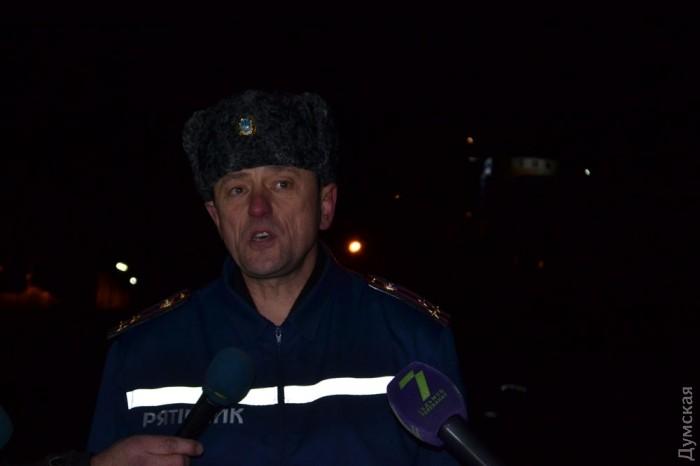 Замчальника Главного управления ГСЧС Украины в Одесской области Орест Фок