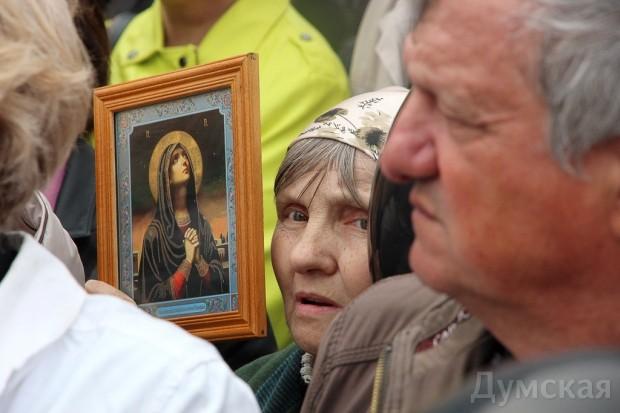 40 кадров: как одесситы поминали погибших 2 мая на Куликовом, фото-25
