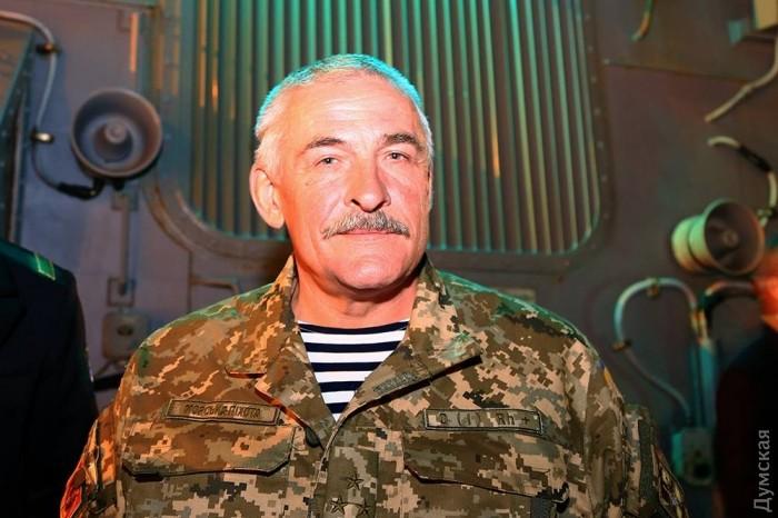 Командир одесского бата морской пехоты полковник Клепченко - ветеран спецназа