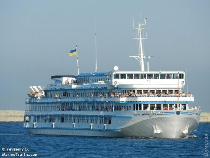 Круизный лайнер «Генерал Ватутин» не«бежал» изУкраины вРостов