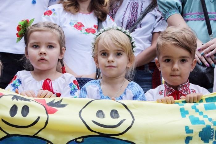Марш в вышиванках прошел в центре Одессы - Цензор.НЕТ 4162