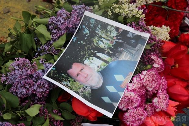 40 кадров: как одесситы поминали погибших 2 мая на Куликовом, фото-11