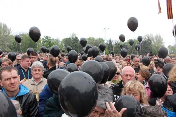 40 кадров: как одесситы поминали погибших 2 мая на Куликовом, фото-26