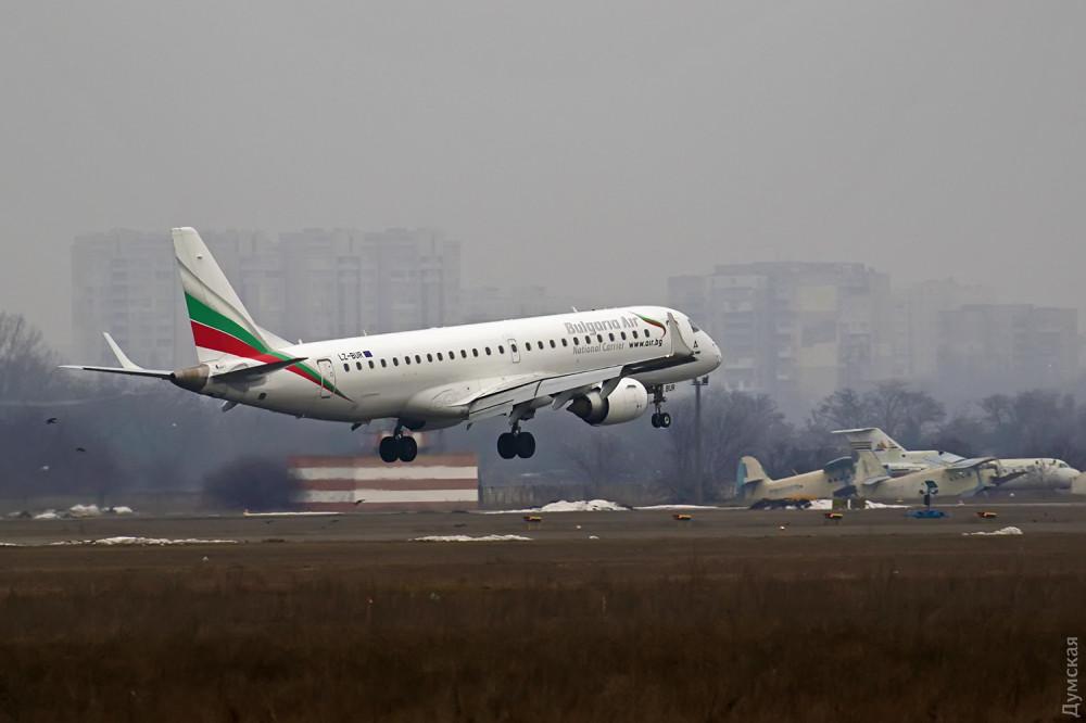 Bulgaria Air прекращает полеты в Одессу?