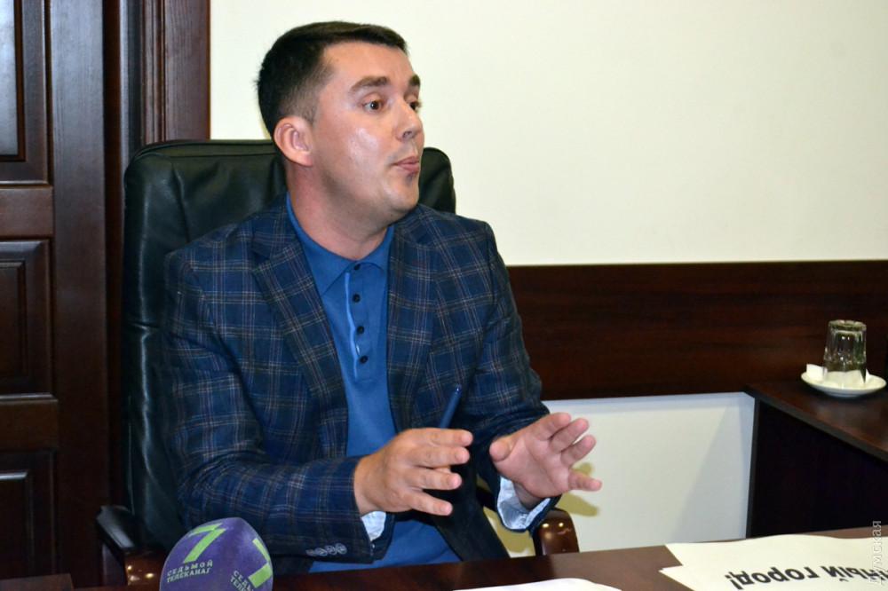 Первый заместитель прокурора Одесской области Александр Осаулко