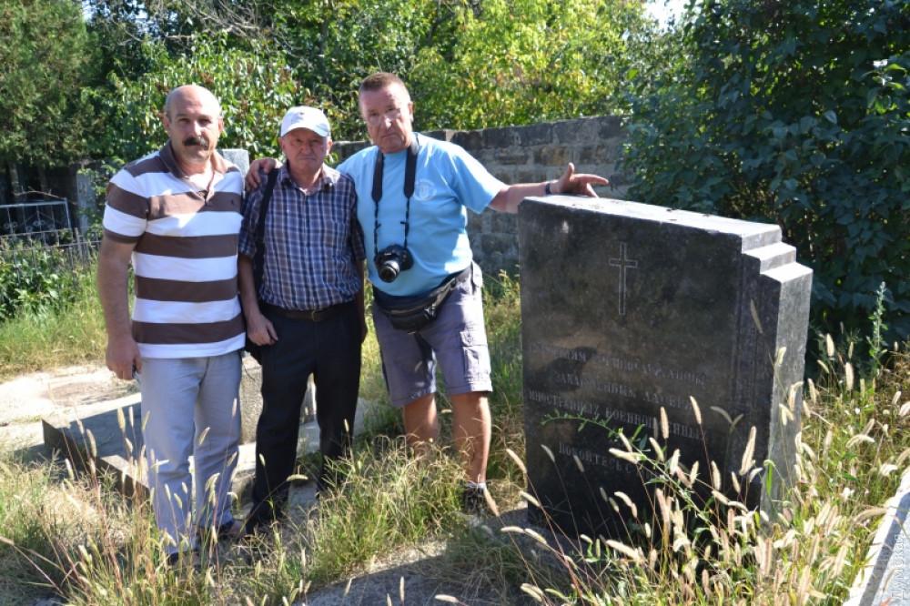 Французский историк посетил Одесскую область в поисках сведений о погибших земляках из Эльзаса
