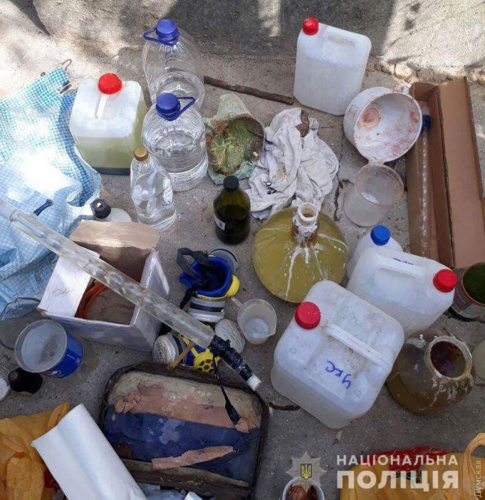 На юге Одесской области прикрыли еще одну подпольную нарколабораторию