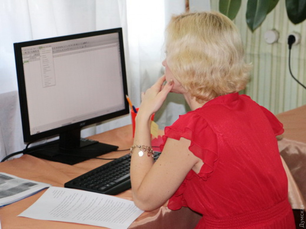 Одесских семейных врачей учат работать с электронными документами и базами данных