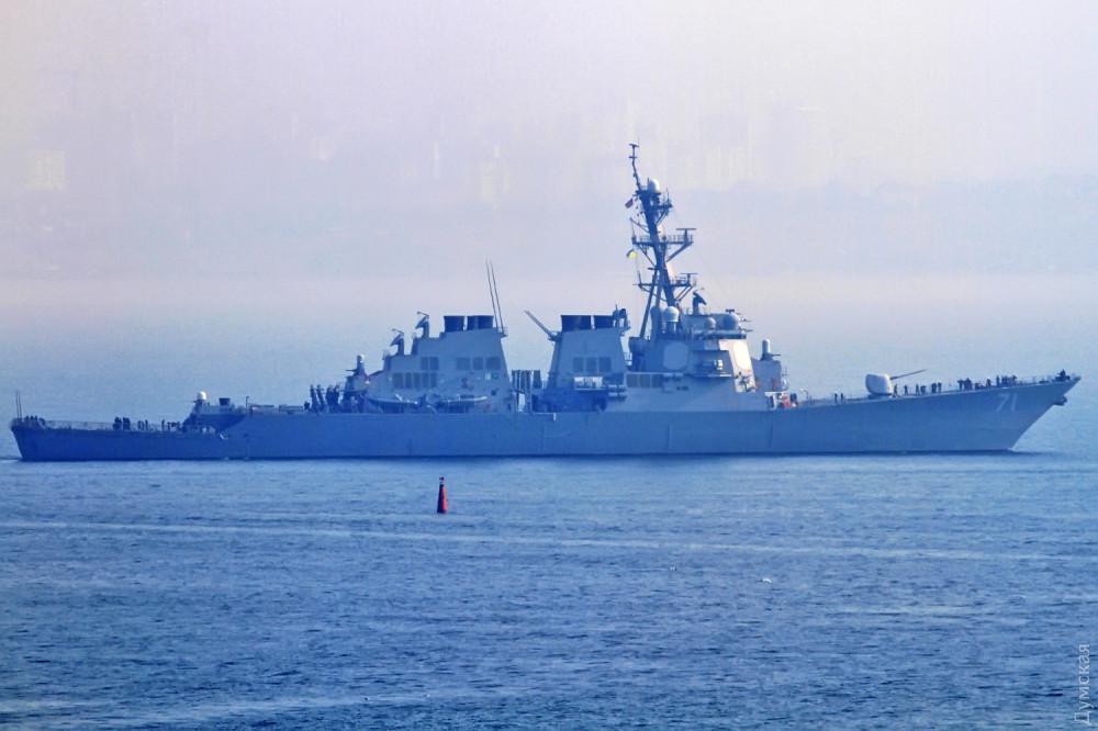 В Черное море вошел американский эсминец Ross