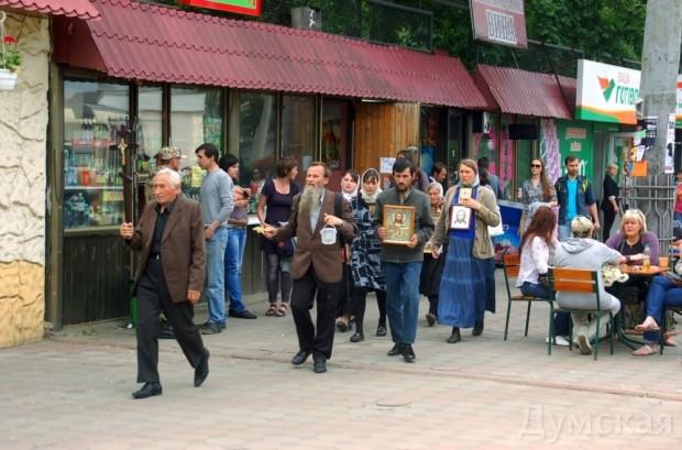 Милицейский смотр, митинг и контрмитинг на Куликовом поле, фото-17
