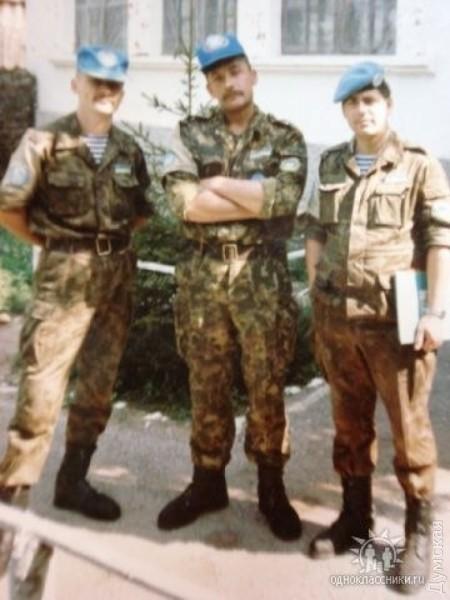 Родион Клепченко в 1990-х