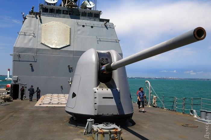 """127-мм орудиями крейсера тоже управляет """"Иджис"""""""