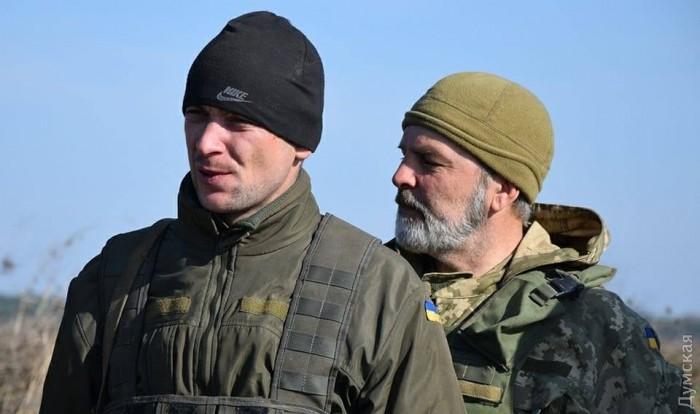 На Яворовском полигоне учатся и резервисты