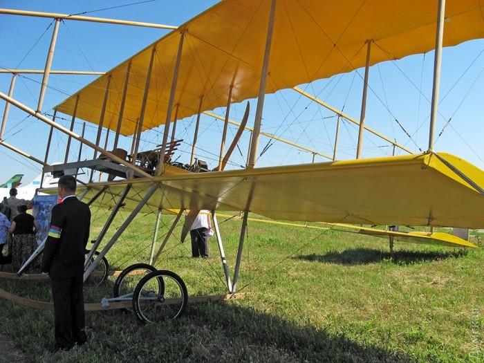 Аэроплан «Farman-IV», построенный по чертежам 1910 года