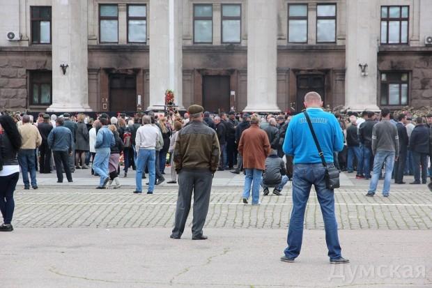 40 кадров: как одесситы поминали погибших 2 мая на Куликовом, фото-18