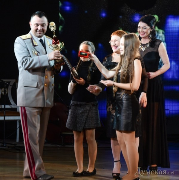 За укрепление обороноспособности страны награждена Одесская военная академия