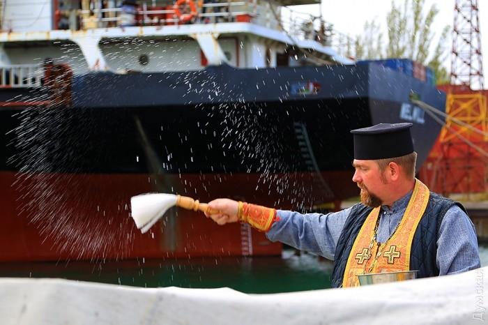 В Одессе освятили новейшие украинские катера типа «Гюрза»