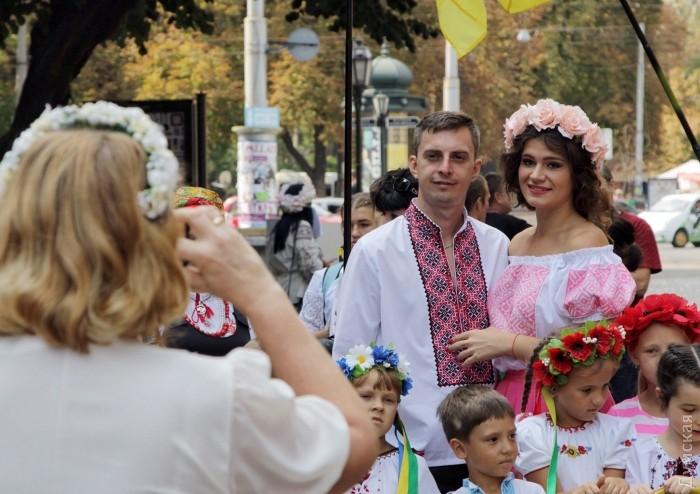 Марш в вышиванках прошел в центре Одессы - Цензор.НЕТ 5873
