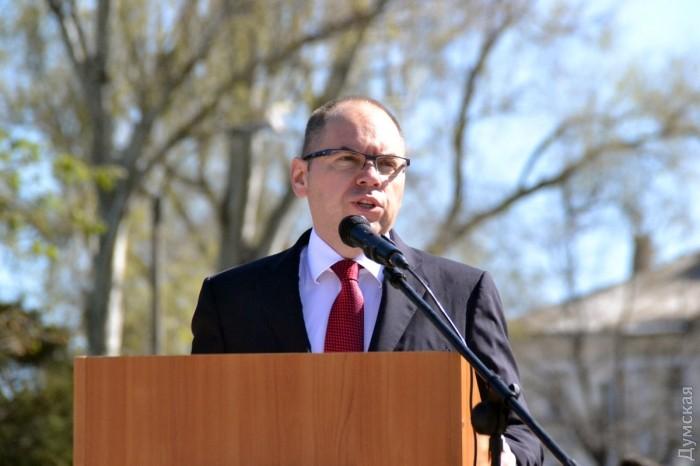 Председатель Одесской ОГА Максим Степанов