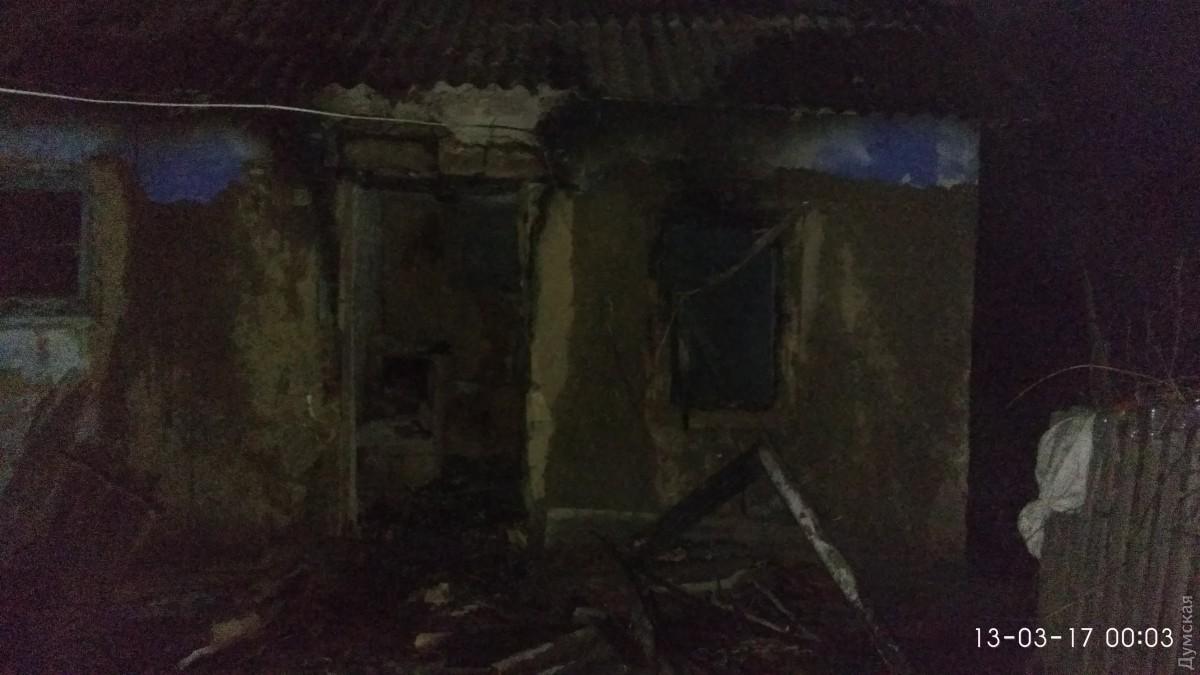 Наместе пожара вОдесской области найден труп