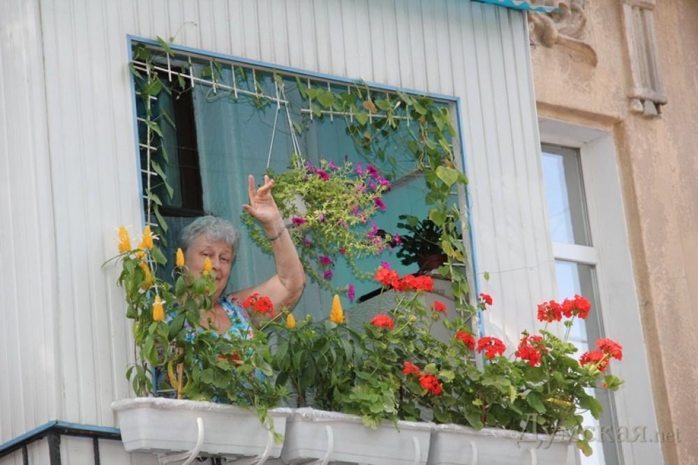 Балкон на большой арнаутской признали самым красивым (фото) .