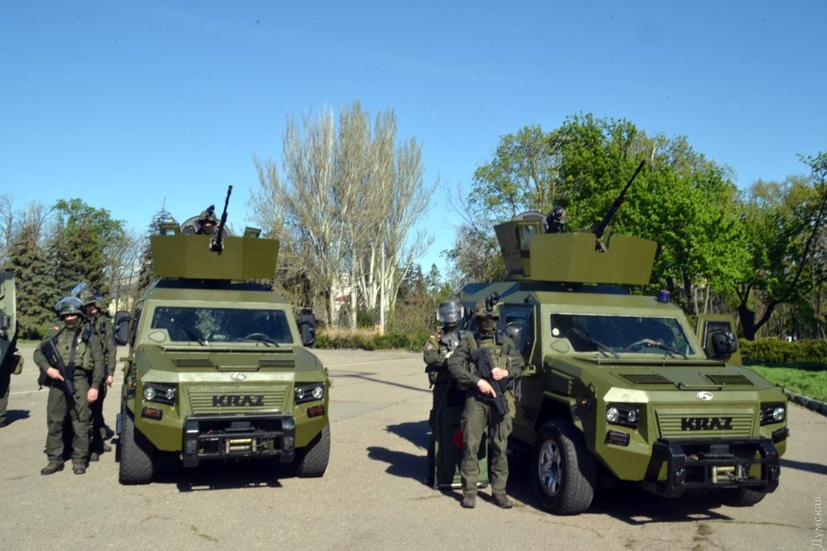 Намайские праздники милиция Одессы переходит наусиленный режим работы