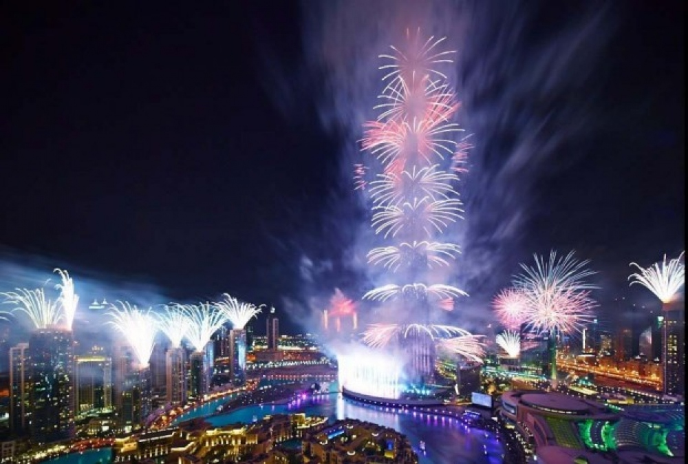 Дубай установил рекорд Гиннесса по самому масштабному лазерному шоу