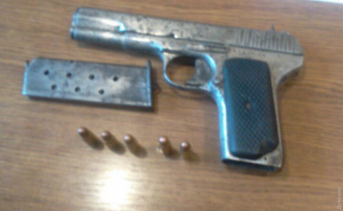 ВОдессе схвачен мужчина, который наладил сбыт оружия из«ДНР»